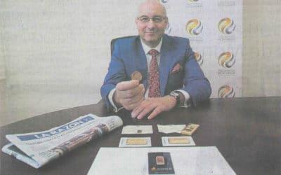El periódico La Razón entrevista a Gabriel Ruiz