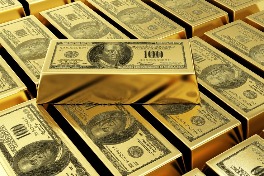 Patron oro dólar