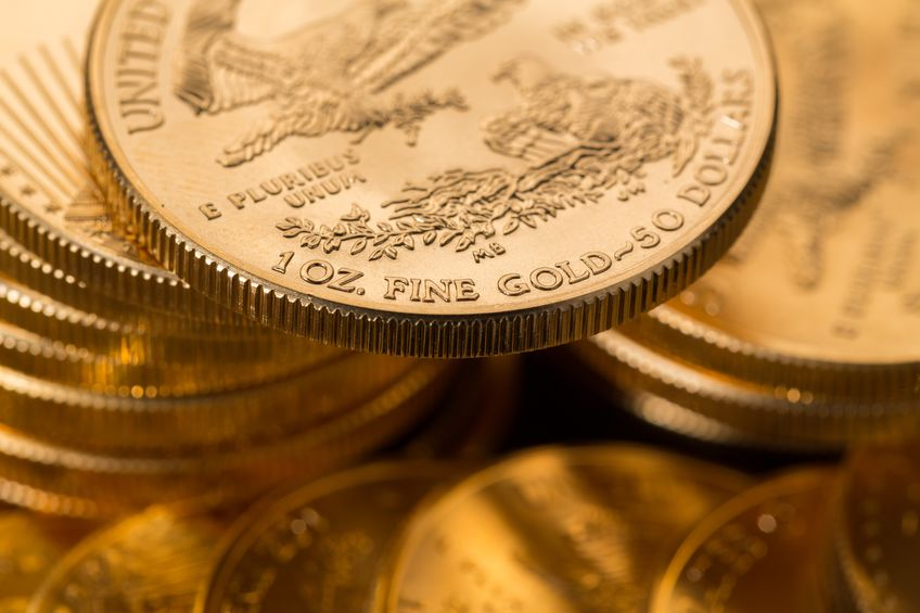 Moneda de oro American Eagle - 1 onza