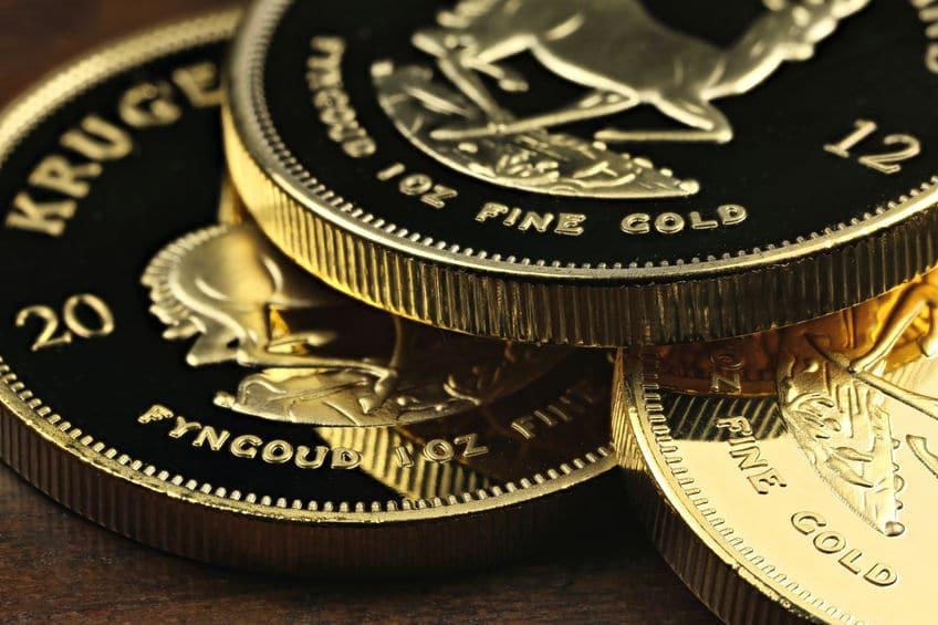 Monedas de oro de inversión Krugerrand