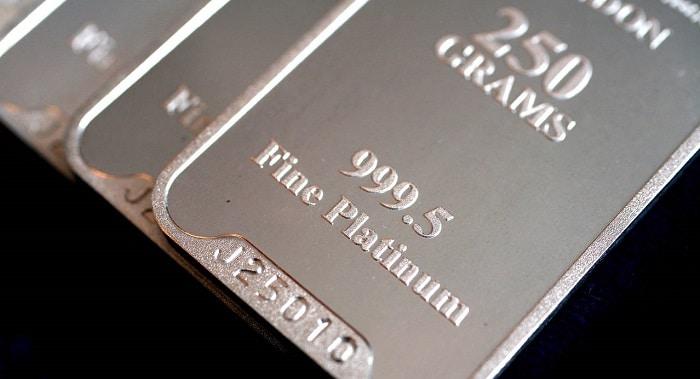 Lingote de platino