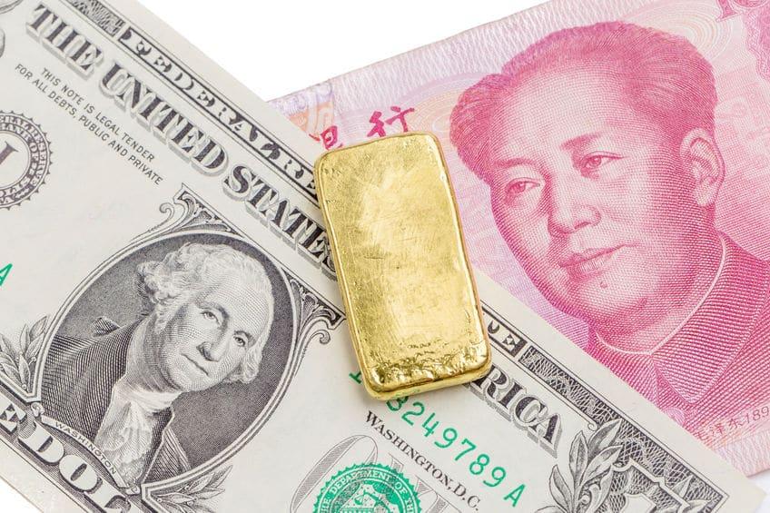 Dolar Yuan y Oro guerra comercial entre EEUU y China