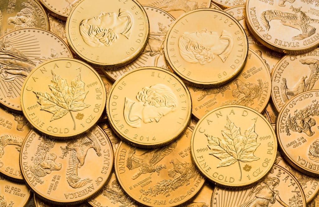 Monedas de inversion Bullion