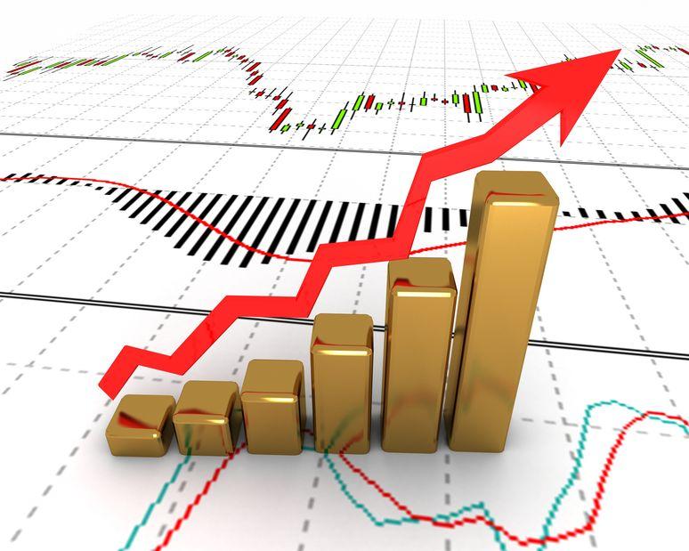 Grafica crecimiento oro