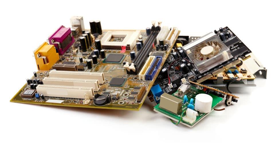 Futuro del oro de inversión: Reciclaje electronico