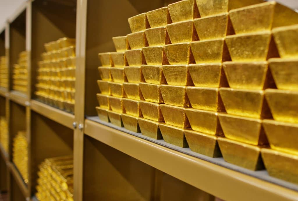Lingotes de oro - Austria