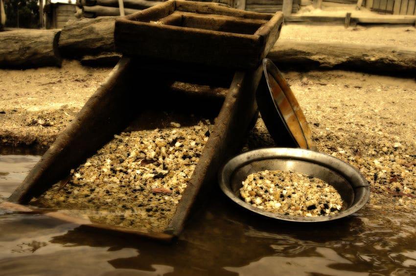 Futuro del oro de inversión: Producción minera