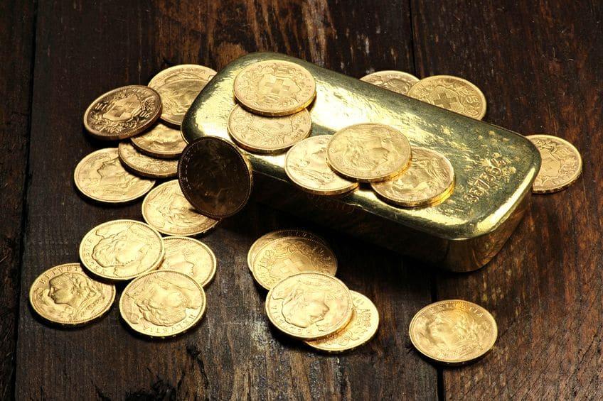 Monedas y lingotes de oro para mantener el poder adquisitivo en la jubilación