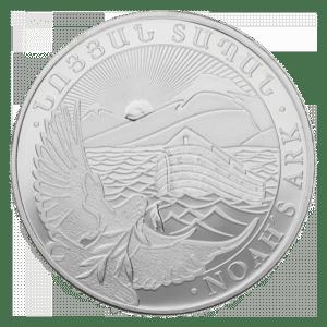 Moneda de plata Arca de Noe 2019