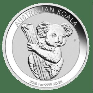 Moneda de plata Koala 2020