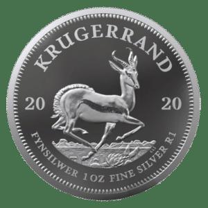 Moneda de plata Krugerrand 2020