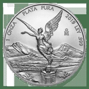 Moneda de plata Libertad 2019