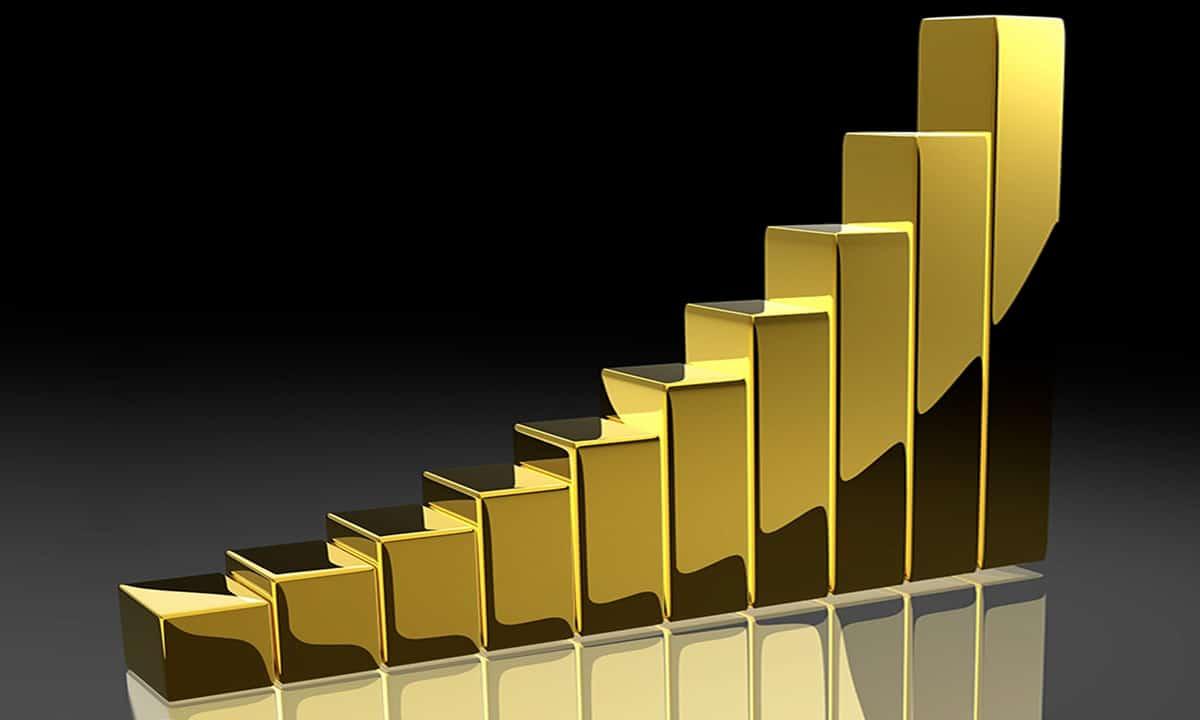 El oro se revalorizo mas de un 18% durante el 2019