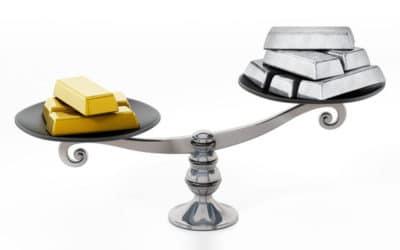 La ratio oro/plata, el elemento de comparación entre los metales preciosos