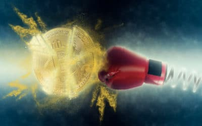Las razones por las que el bitcoin no es un refugio como el oro