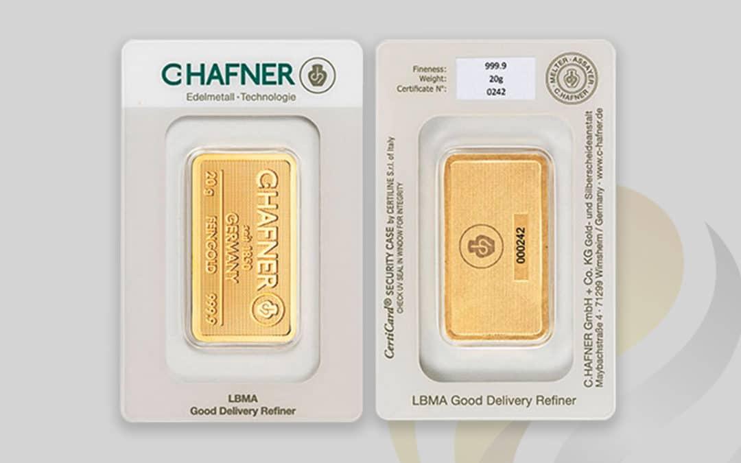 Las ventajas de los lingotes de oro en blíster