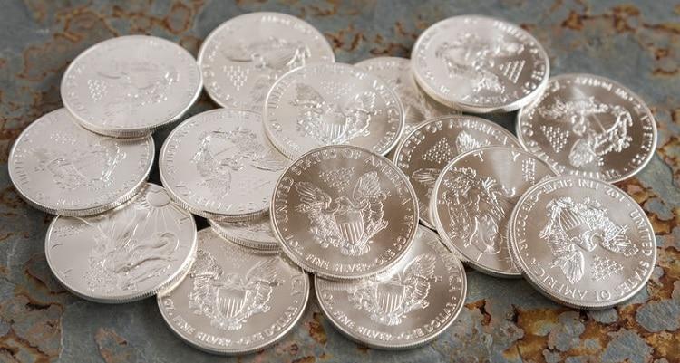 Monedas de plata de inversión