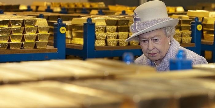 Camara acorazada Banco de Inglaterra