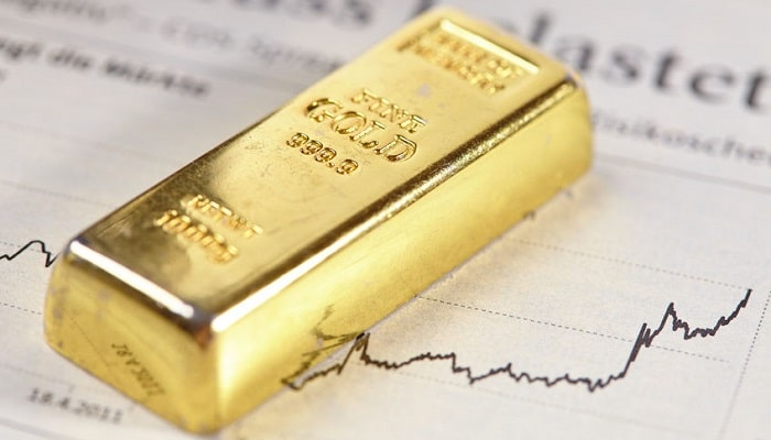 Spreads entre el spot y los futuros del oro