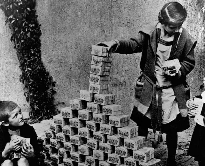 El oro se utilizó durante siglos para respaldar las divisas