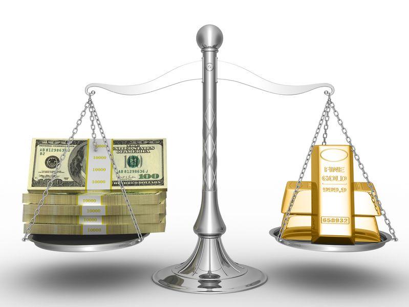 El precio del oro se usa para medir el valor de una divisa local como el dolar