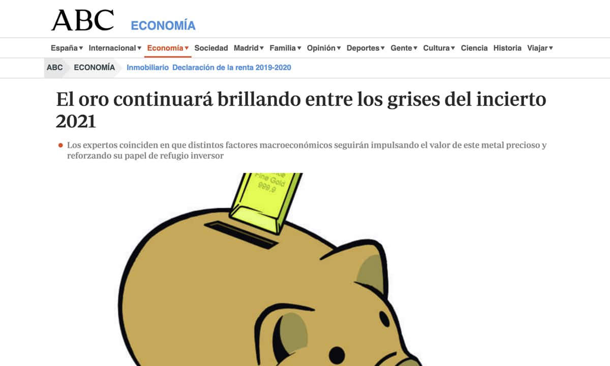 Gabriel Ruiz presidente de SEMPI Gold España en ABC