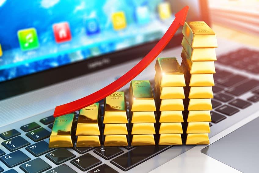 Subida del oro en 2021