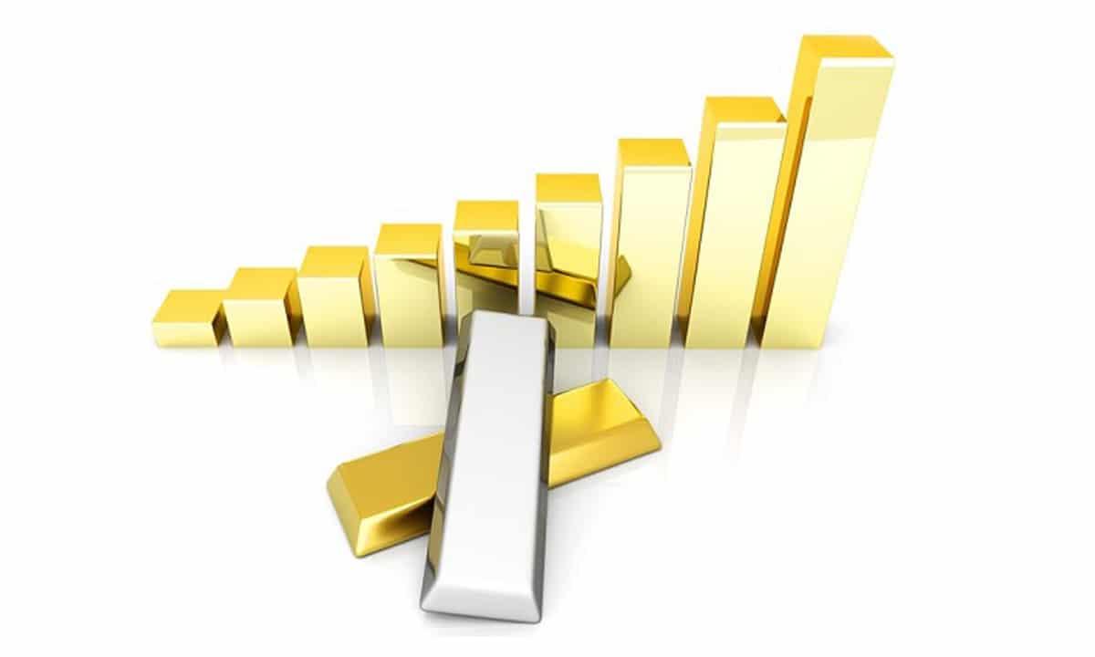 Plata y oro a la cabeza de los activos de inversión en 2020