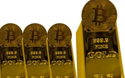 La volatilidad del bitcoin le impide sustituir al oro como activo refugio