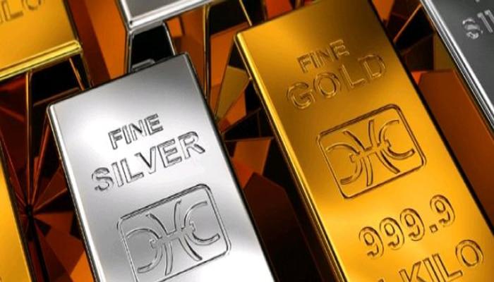 Baja la ratio oro plata