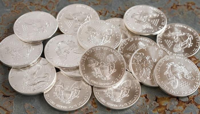 Monedas de plata eagle