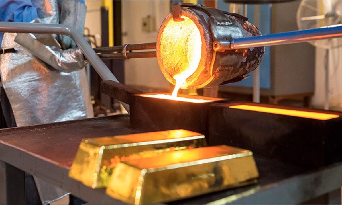 De la mina a la caja fuerte ¿cómo se refina el oro?