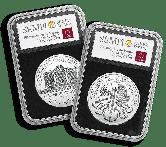 Capsulas Filarmonica Plata SEMPI Silver